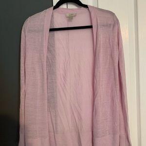 Loft lavender cardigan